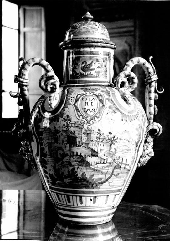 vaso - ambito italiano (sec. XVIII)