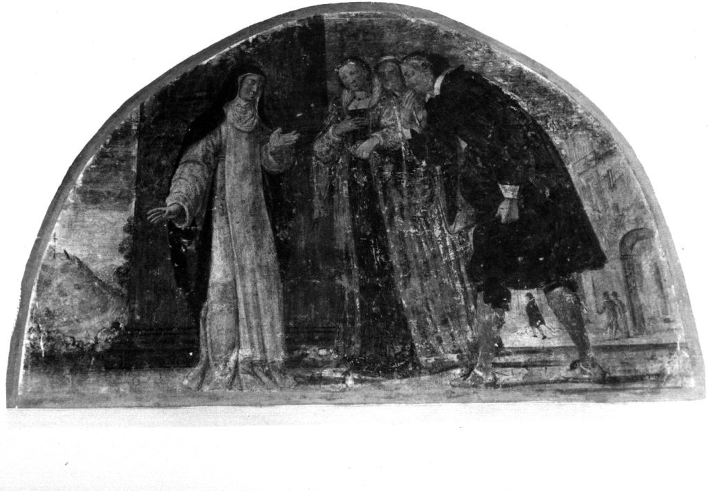 storie della vita della Beata Colomba (dipinto, ciclo) di Manenti Vincenzo, Bianchi Giulio (prima metà sec. XVII)