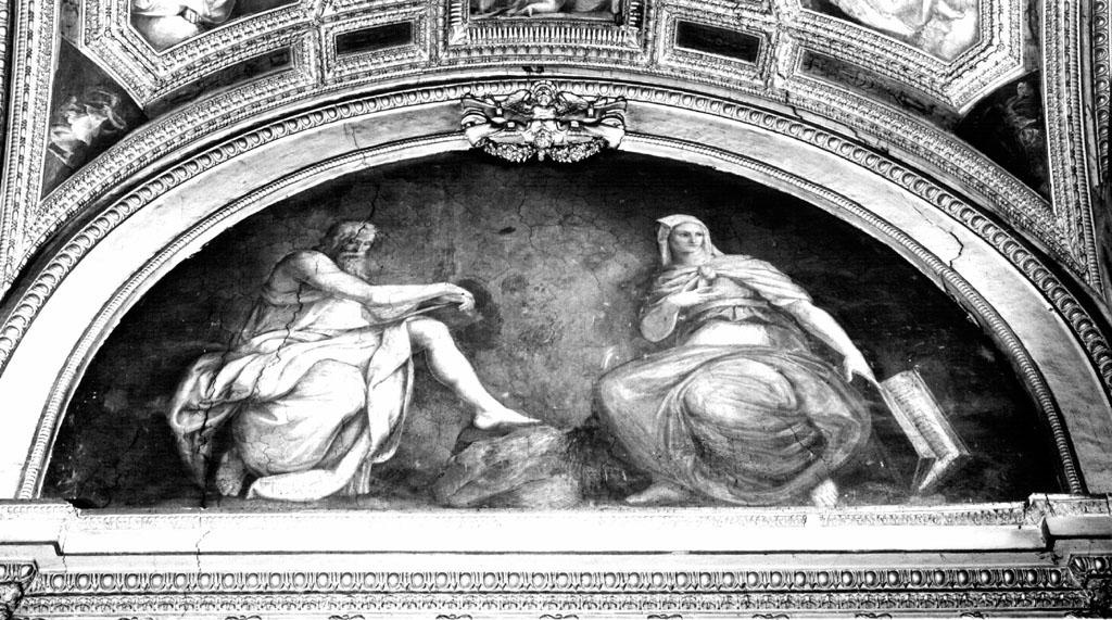 Profeta e sibilla (dipinto) di Franco Battista detto Semolei (sec. XVI)