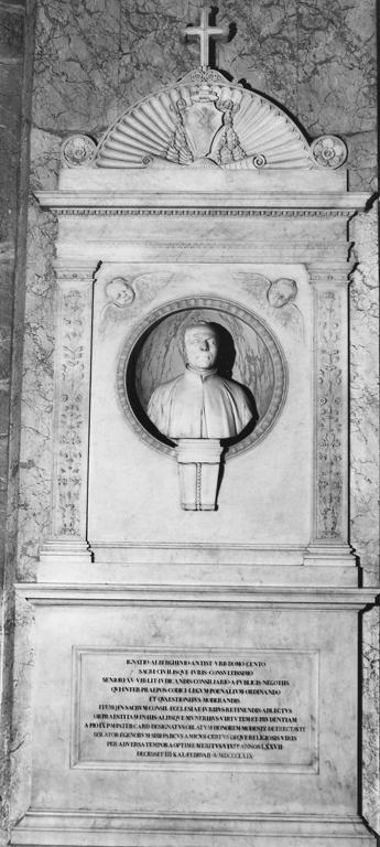 monumento funebre - a edicola - bottega romana (sec. XIX)