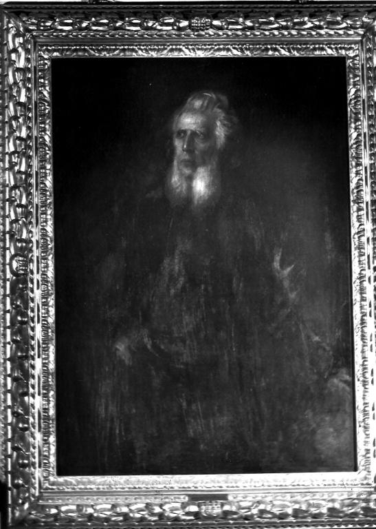 ritratto di Marcantonio IV Borghese (dipinto) di Von Lenbach Franz (seconda metà sec. XIX)