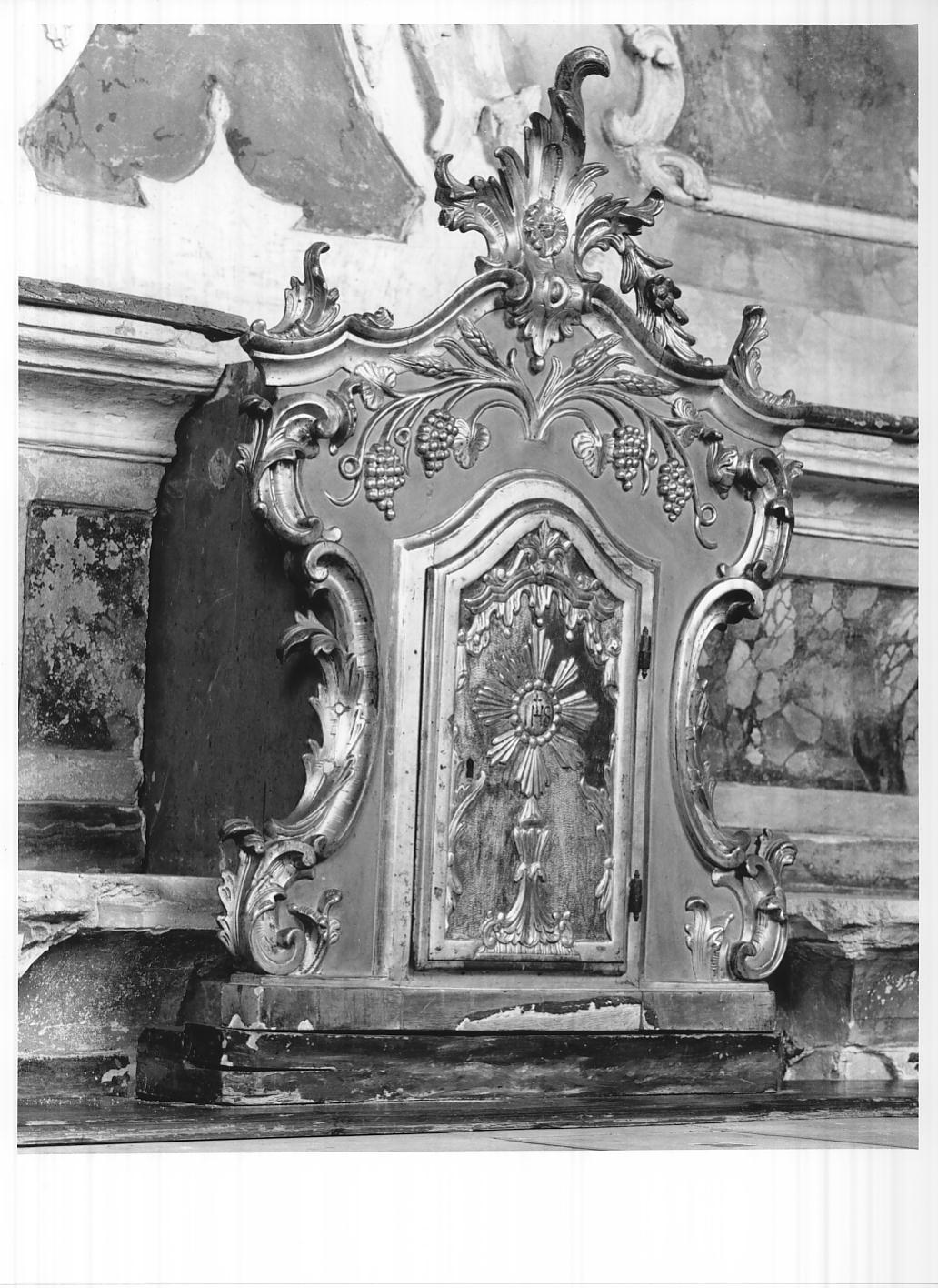 tabernacolo, elemento d'insieme - ambito cremonese (sec. XX)