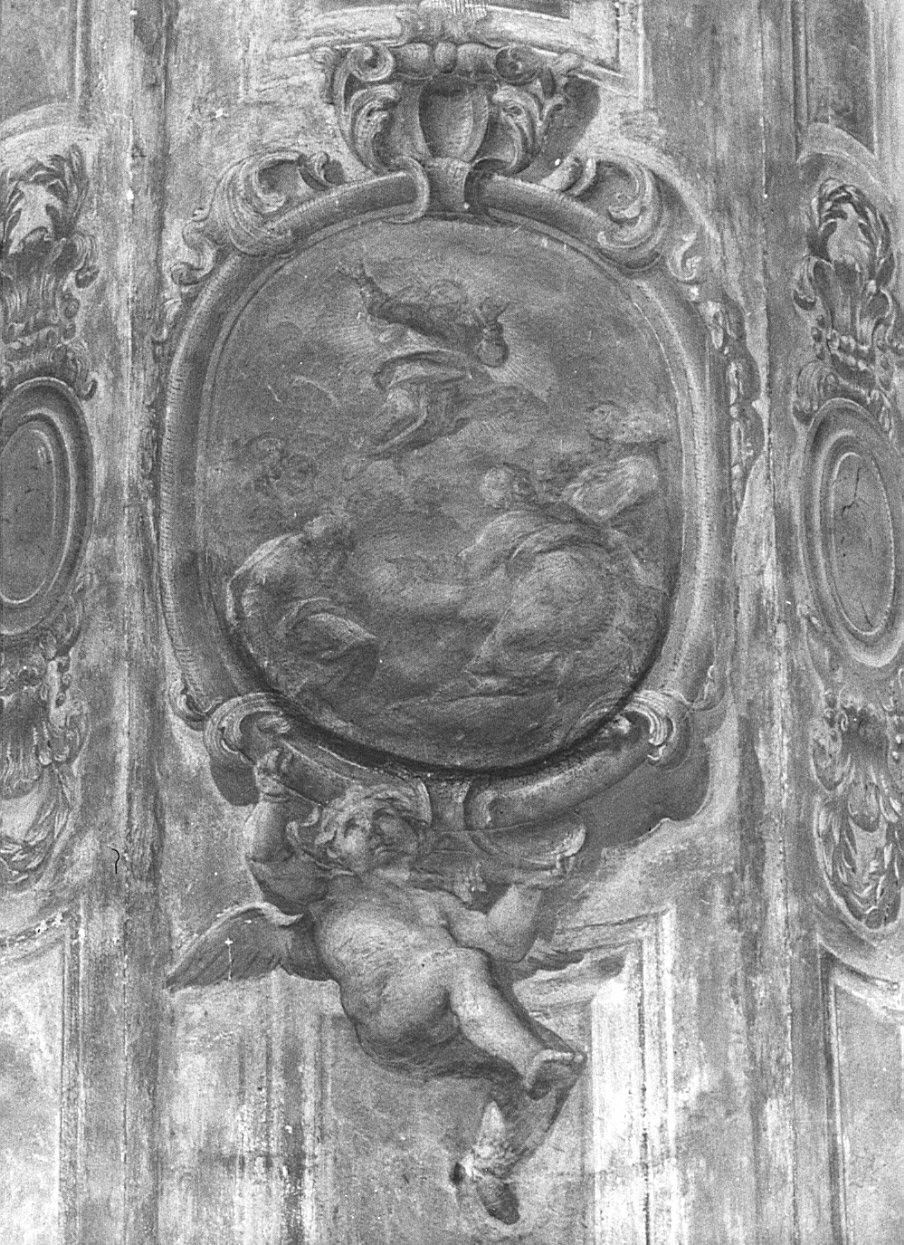 ascensione di Cristo (dipinto, elemento d'insieme) di Bombasari Francesco (attribuito) (sec. XVII, fine)