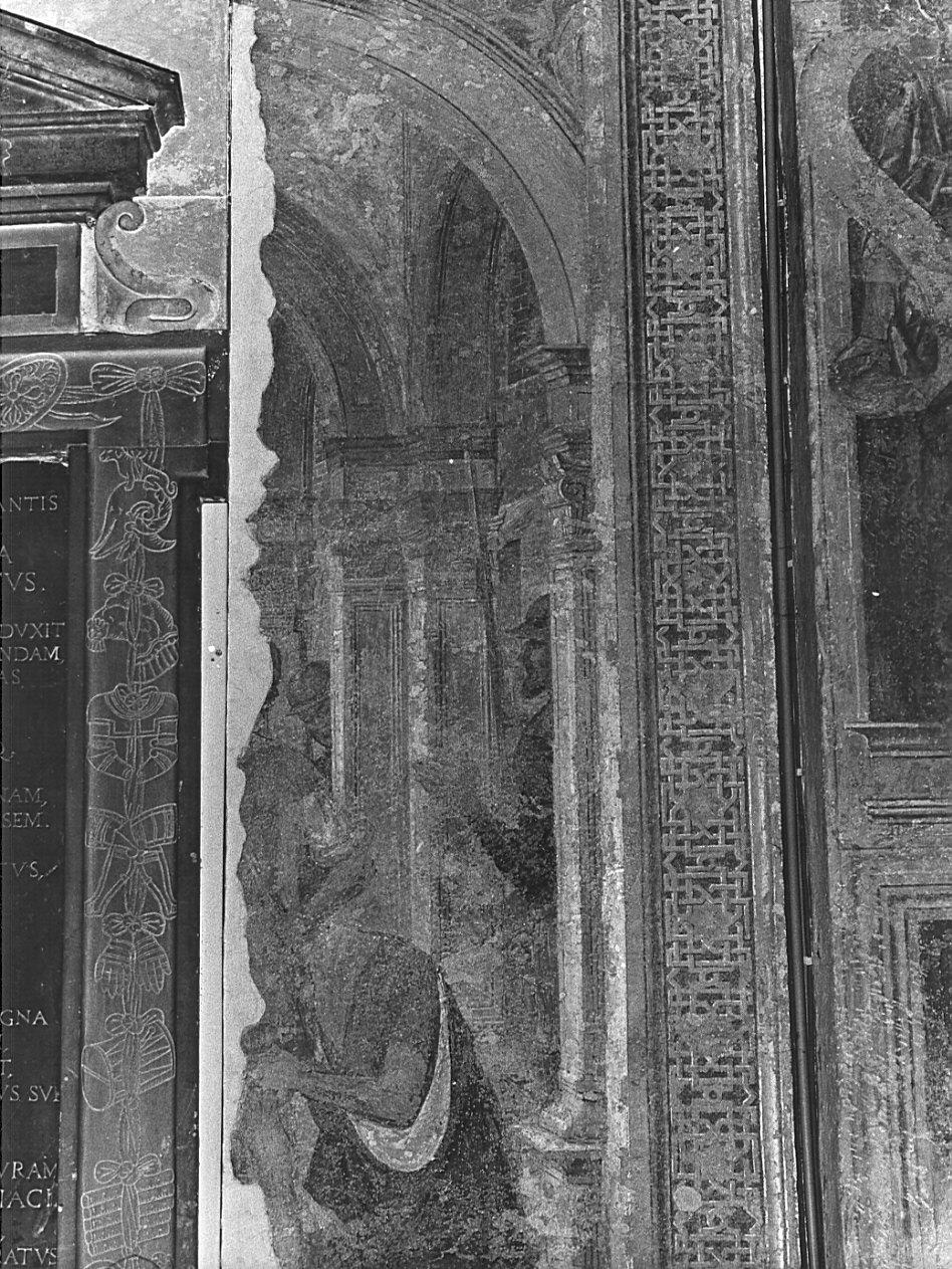 banchetto di Erode (dipinto, complesso decorativo) di Montorfano Giovanni Donato, Bramante Donato (sec. XV)