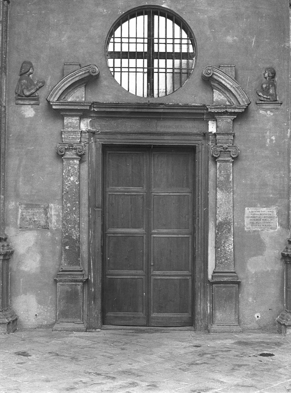 portale, opera isolata di Bramante Donato, Richini Francesco Maria (sec. XV, fine)