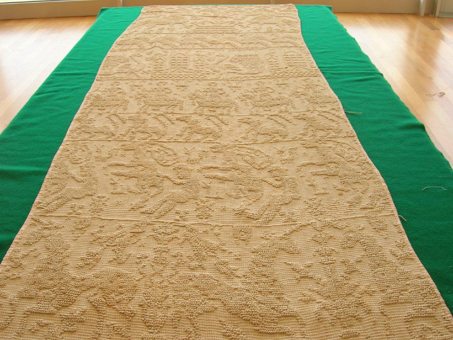 striscia in tessuto, accessori tessili - Provincia di Sassari (sec. XIX)
