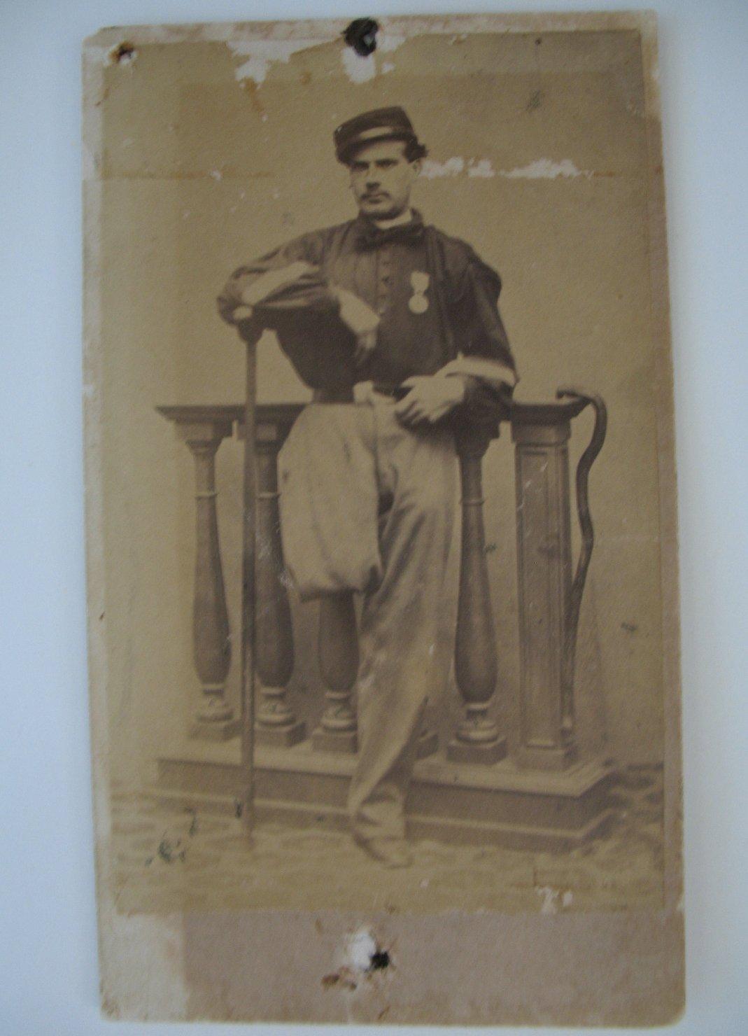 Garibaldino (positivo) di Montresor, Francesco (studio) (XIX, terzo quarto)