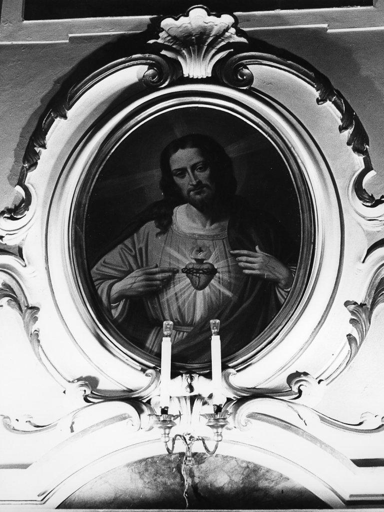 Sacro Cuore di Gesù, Sacro Cuore della Madonna, San Giiuseppe con Gesù Bambino,San Luigi gonzaga, San Francesco saverio, San Giovanni Maria vianney (dipinto, serie) - ambito pisano (fine sec. XIX)
