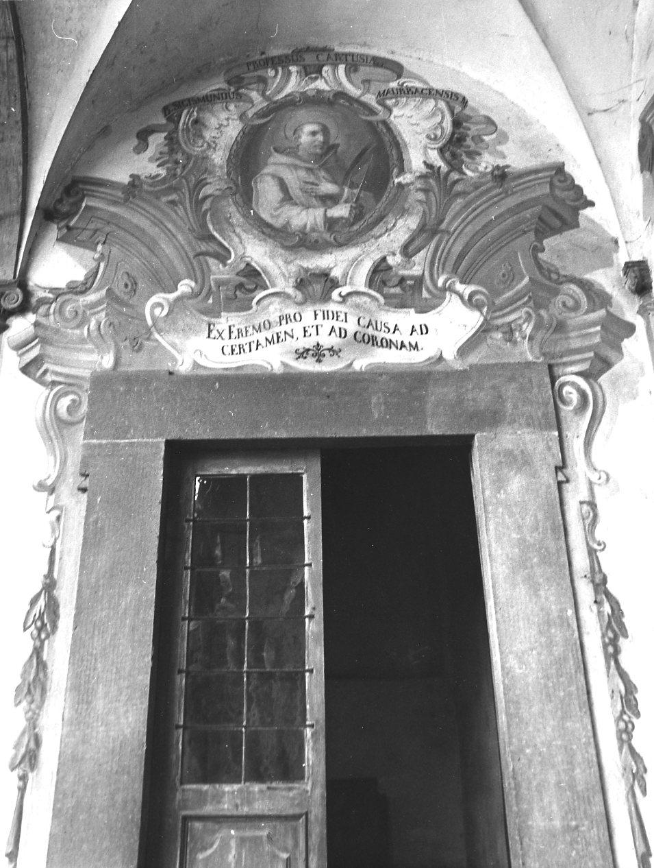 monaco martire (dipinto, serie) di Guidetti Giovanni Agostino (sec. XVIII)