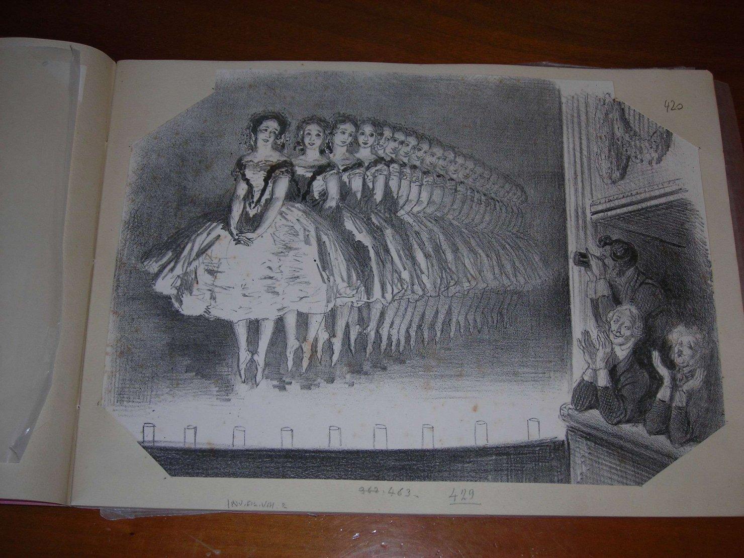 teatro (stampa) di Doré Gustave (sec. XIX)