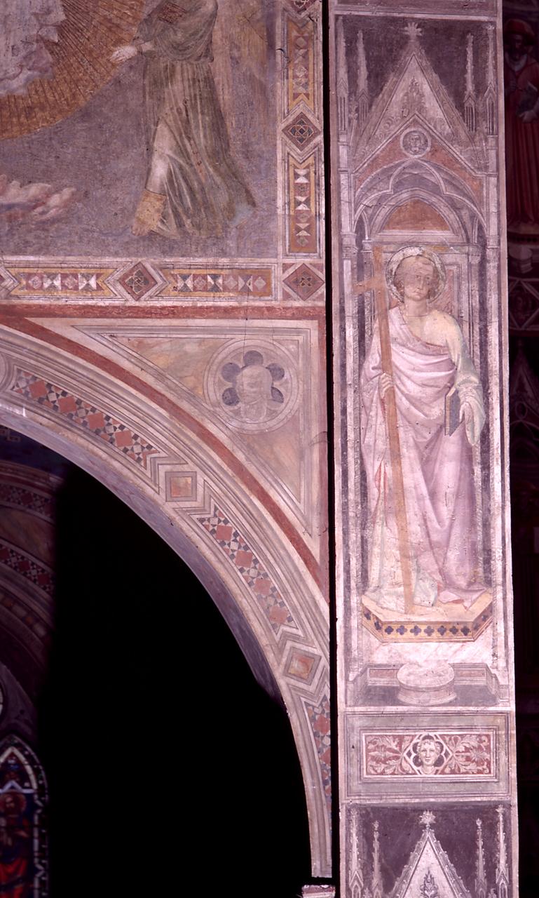 Santo (dipinto) di Gaddi Agnolo (e aiuti) (sec. XIV)