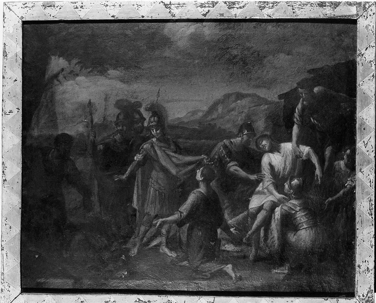 deposizione di Cristo dalla croce (dipinto) - ambito toscano (sec. XVII, seconda metà)