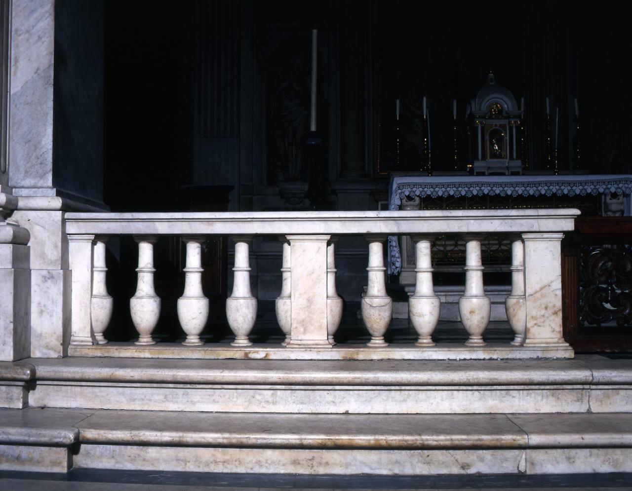 balaustrata di Boulogne Jean de detto Giambologna, Piccardi Jacopo (sec. XVI)