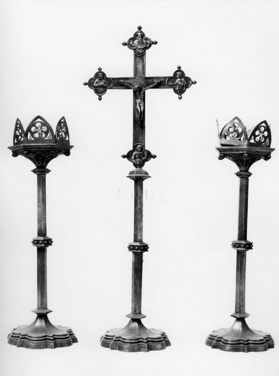 servizio d'altare, serie - bottega italiana (sec. XIX)