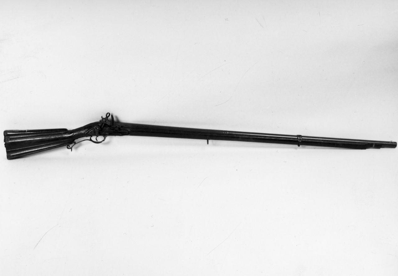 fucile da tiro - manifattura Reale Fabbrica di Napoli (seconda metà sec. XVIII)