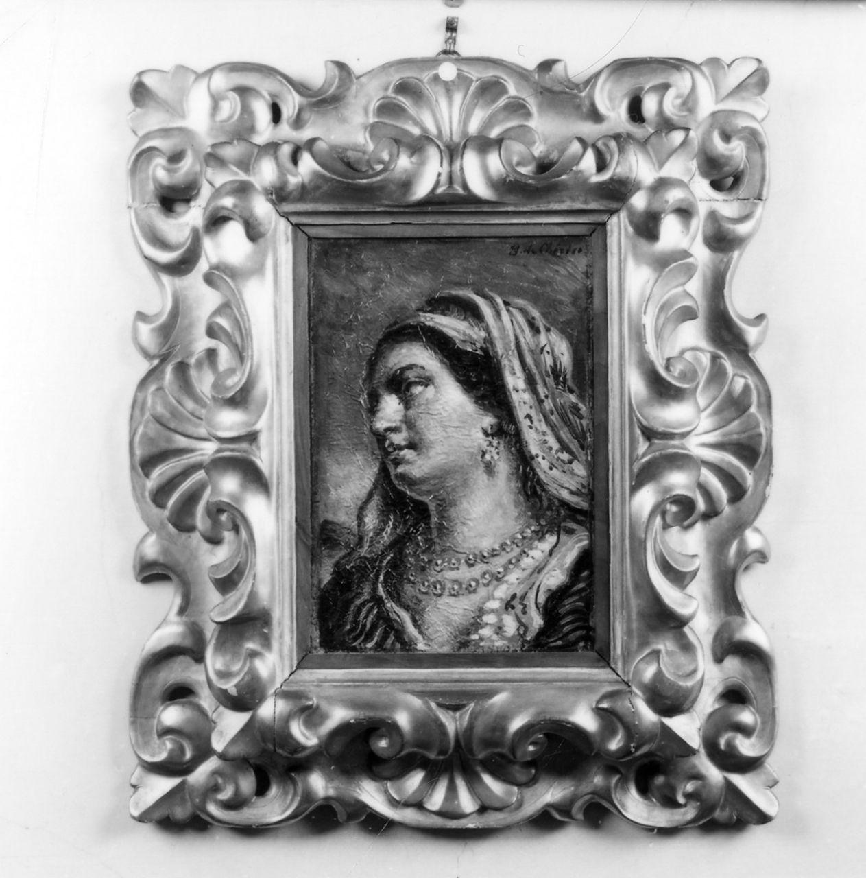 figura femminile (dipinto) di De Chirico Giorgio (sec. XX)