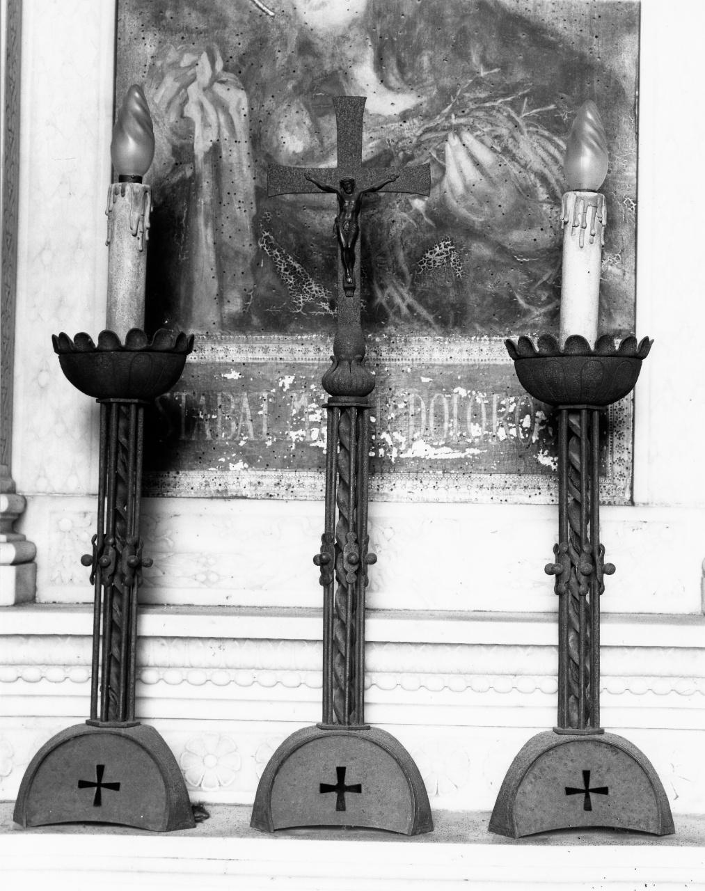 candeliere, serie - produzione fiorentina (metà sec. XX)