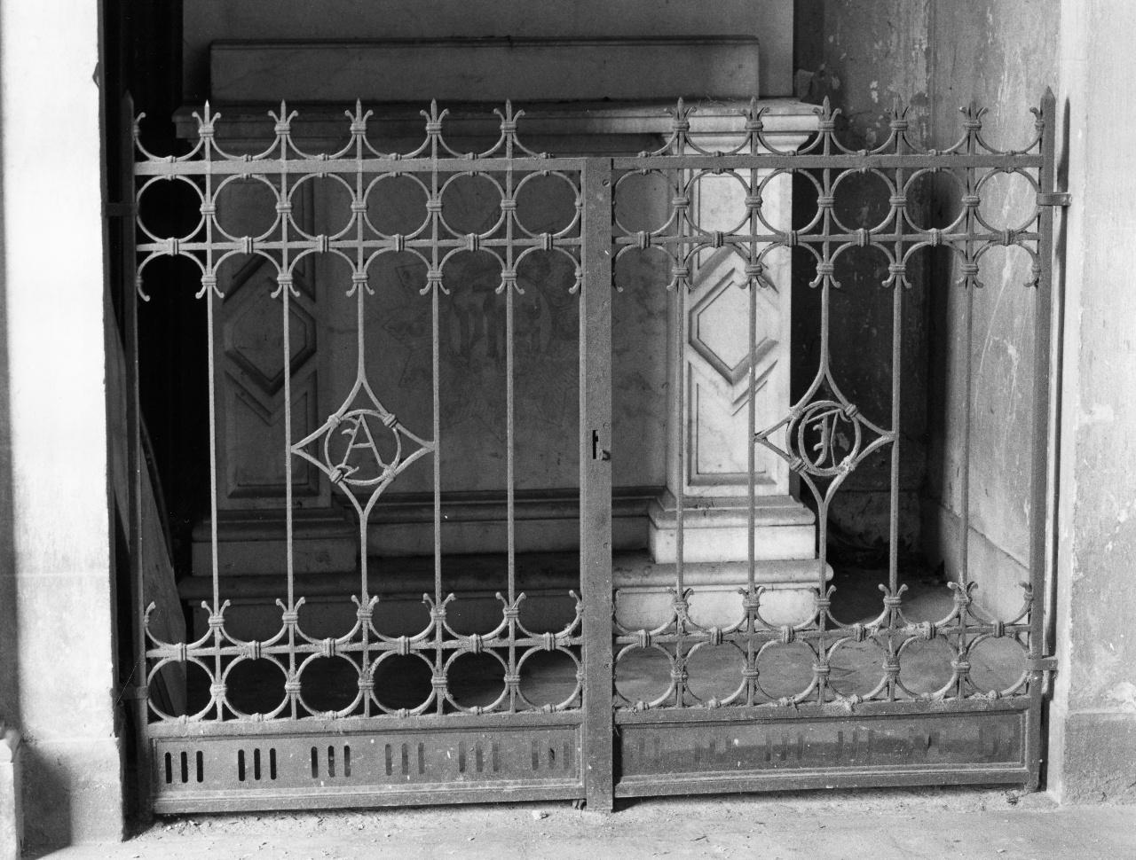 cancello - bottega fiorentina (seconda metà sec. XIX)