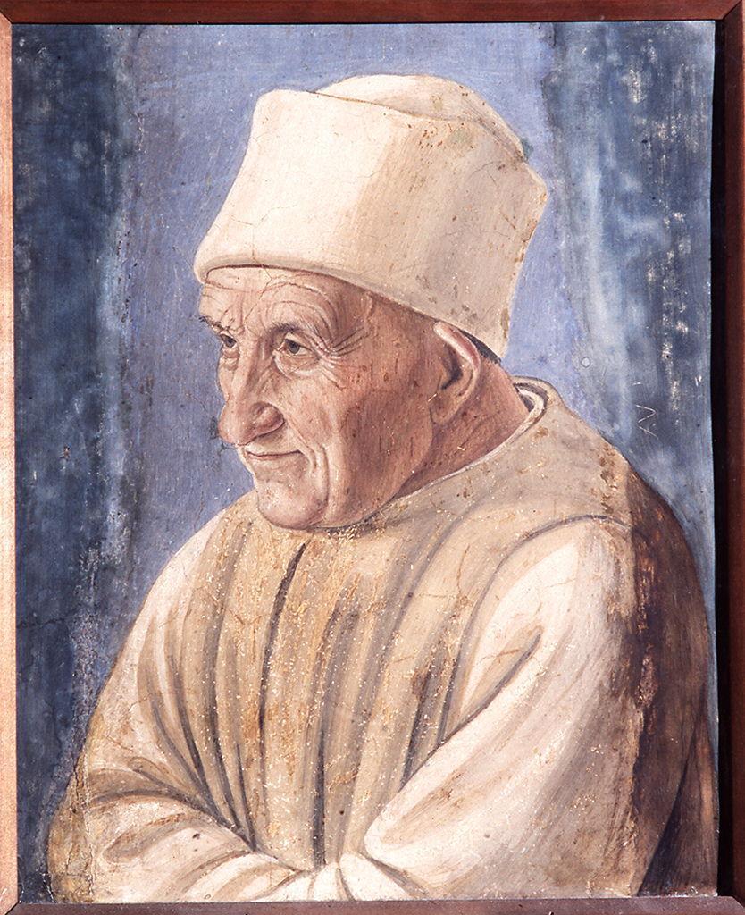 ritratto di vecchio (dipinto) di Lippi Filippino (sec. XV)