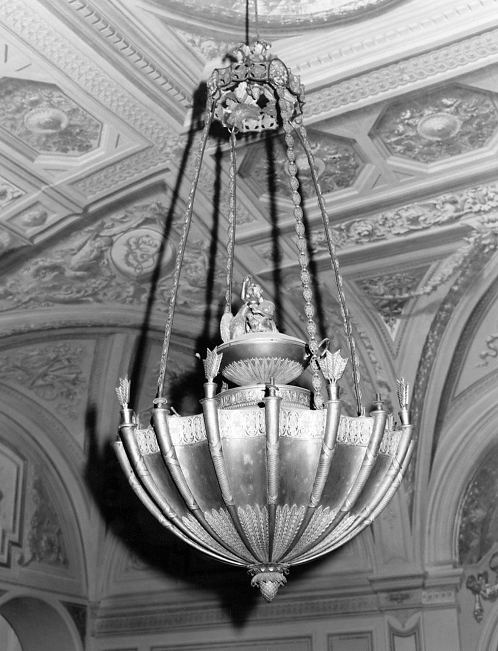 lampadario - bottega francese (inizio sec. XIX)