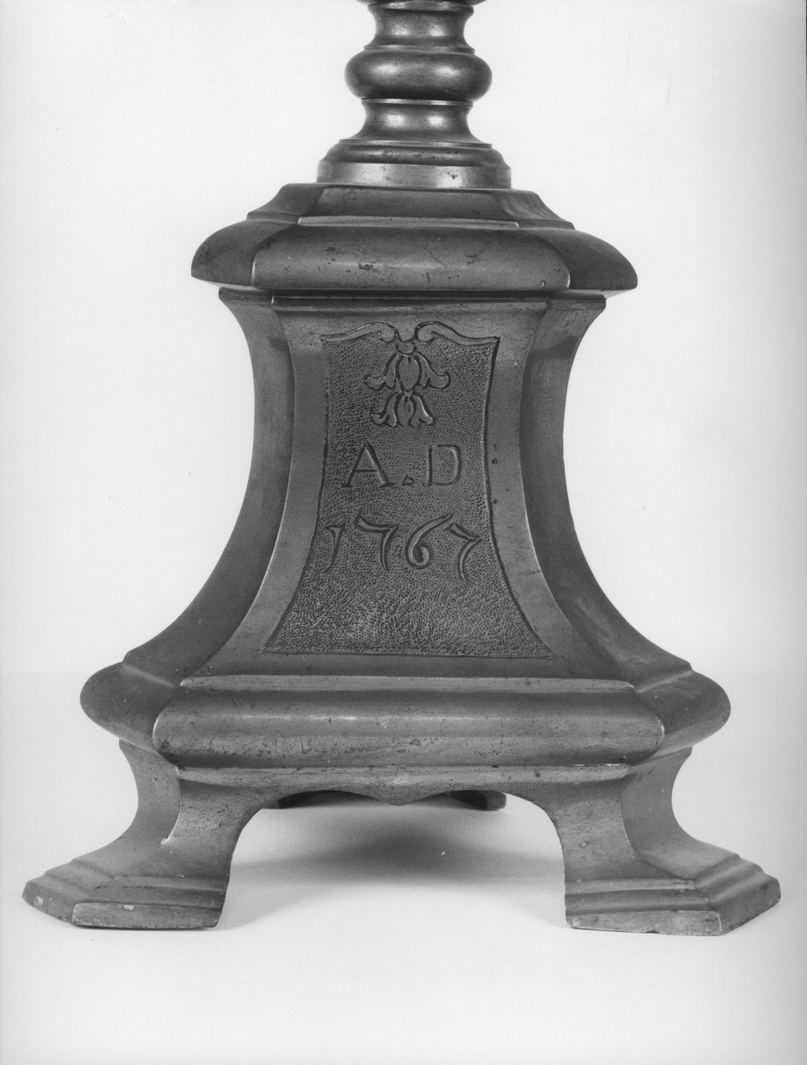 Cristo crocifisso (croce d'altare, elemento d'insieme) - bottega senese (sec. XVIII)