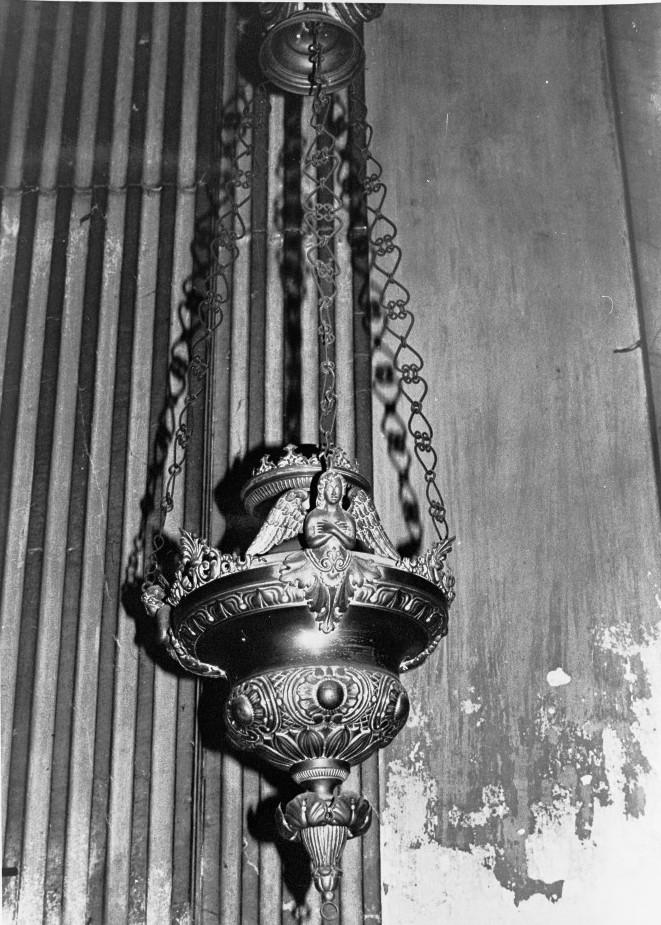 lampada pensile, serie - bottega veneta (prima metà sec. XIX)