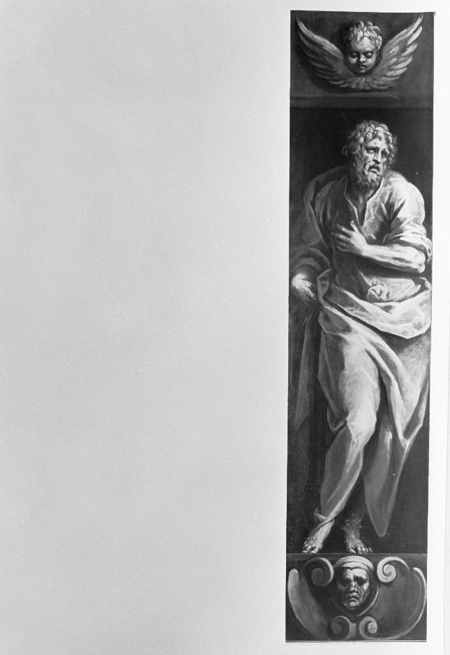 profeta (dipinto) di Negretti Jacopo detto Palma il Giovane (sec. XVI)