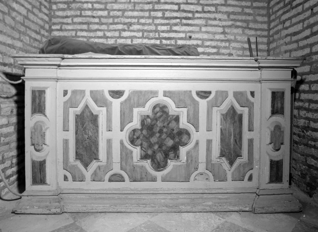 mensa d'altare - bottega veneta (sec. XVI)