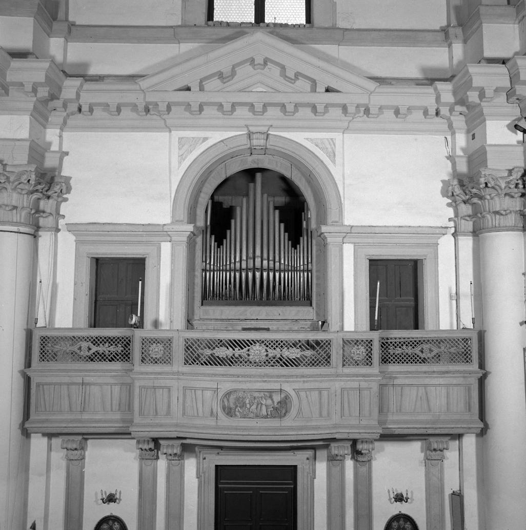 organo - meccanico di Callido Gaetano - ambito veneto (sec. XVIII, sec. XX)