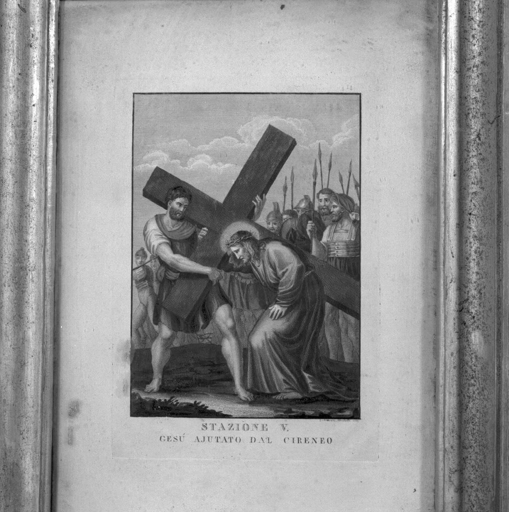 stazioni della via crucis (stampa, serie) - ambito veneto (fine sec. XVIII)