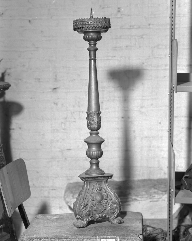 candelabro, serie - bottega veneta (prima metà sec. XIX)