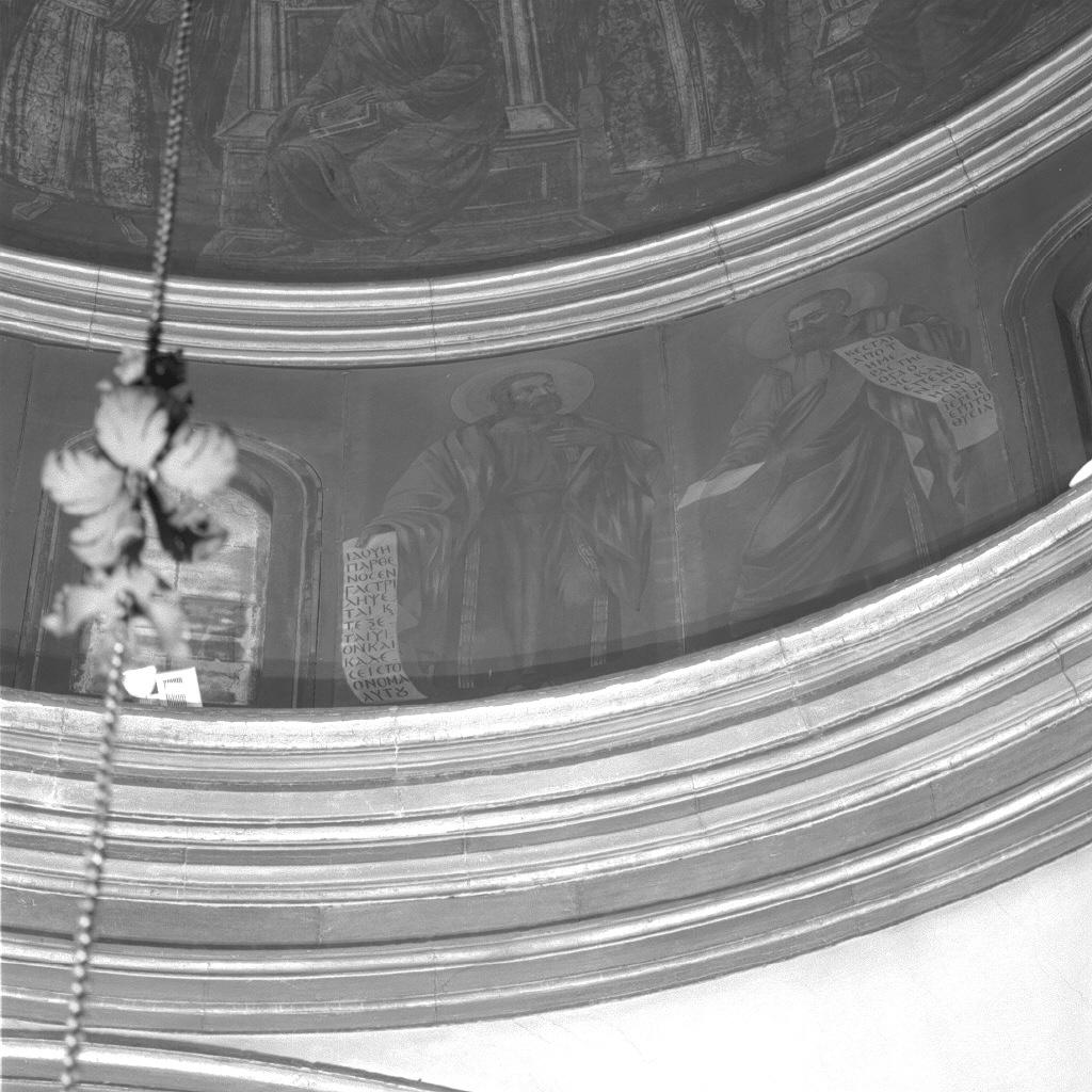 profeta con angioletto (dipinto) di Santi Sebastiano (sec. XIX)