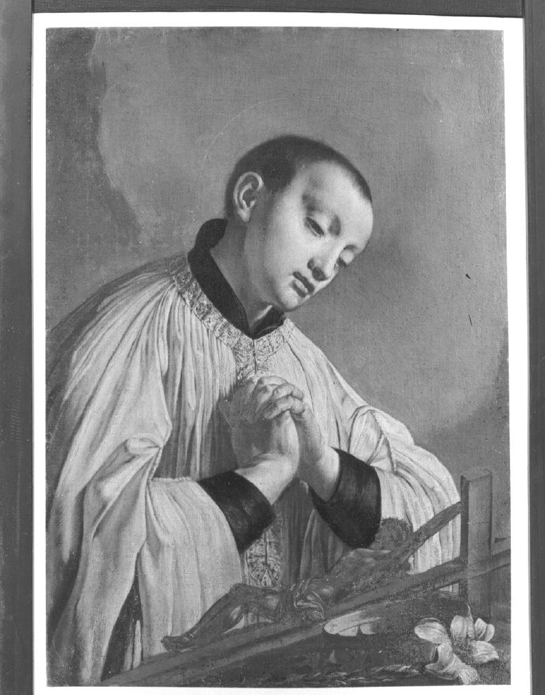 San Luigi Gonzaga (dipinto) di Angeli Giuseppe (attribuito) (terzo quarto sec. XVIII)