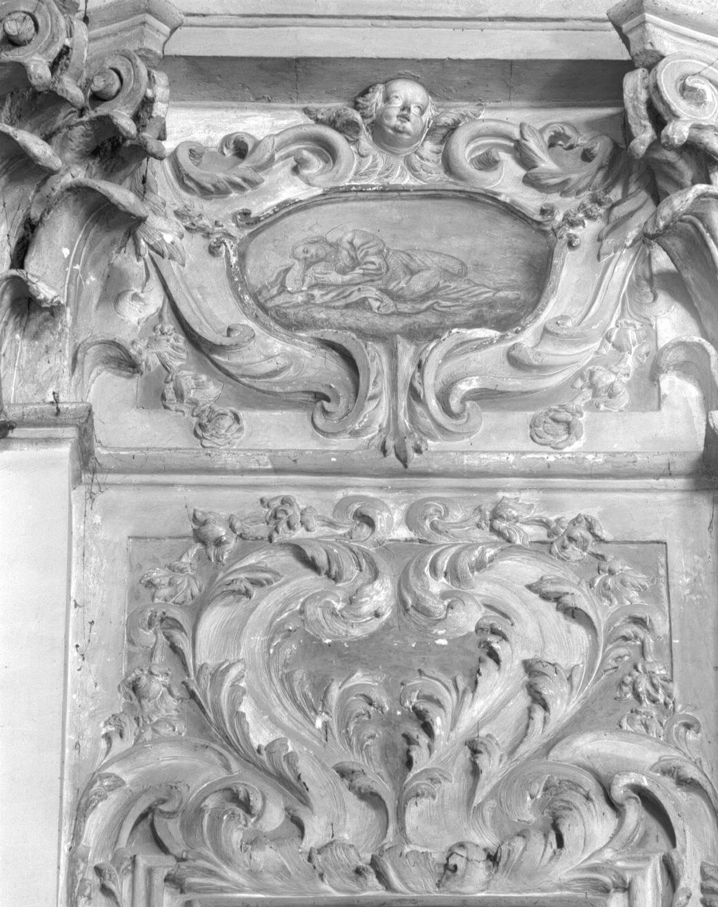 figura allegorica femminile (dipinto) - ambito veneto (secc. XVII/ XVIII)