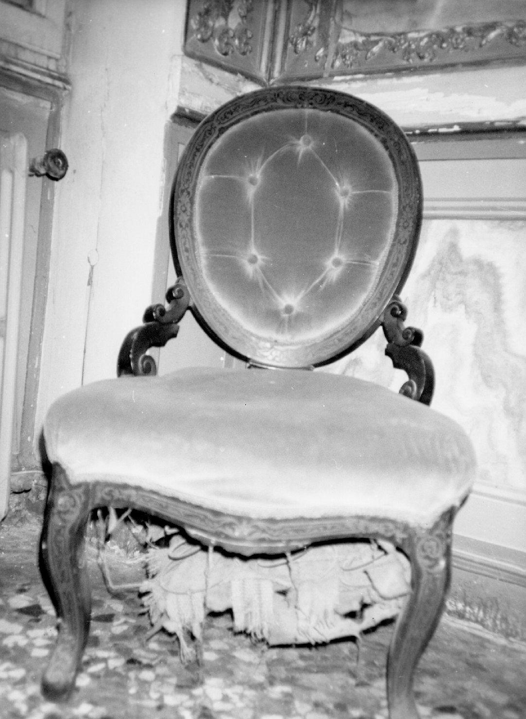 sedia, serie - ambito francese (sec. XIX)