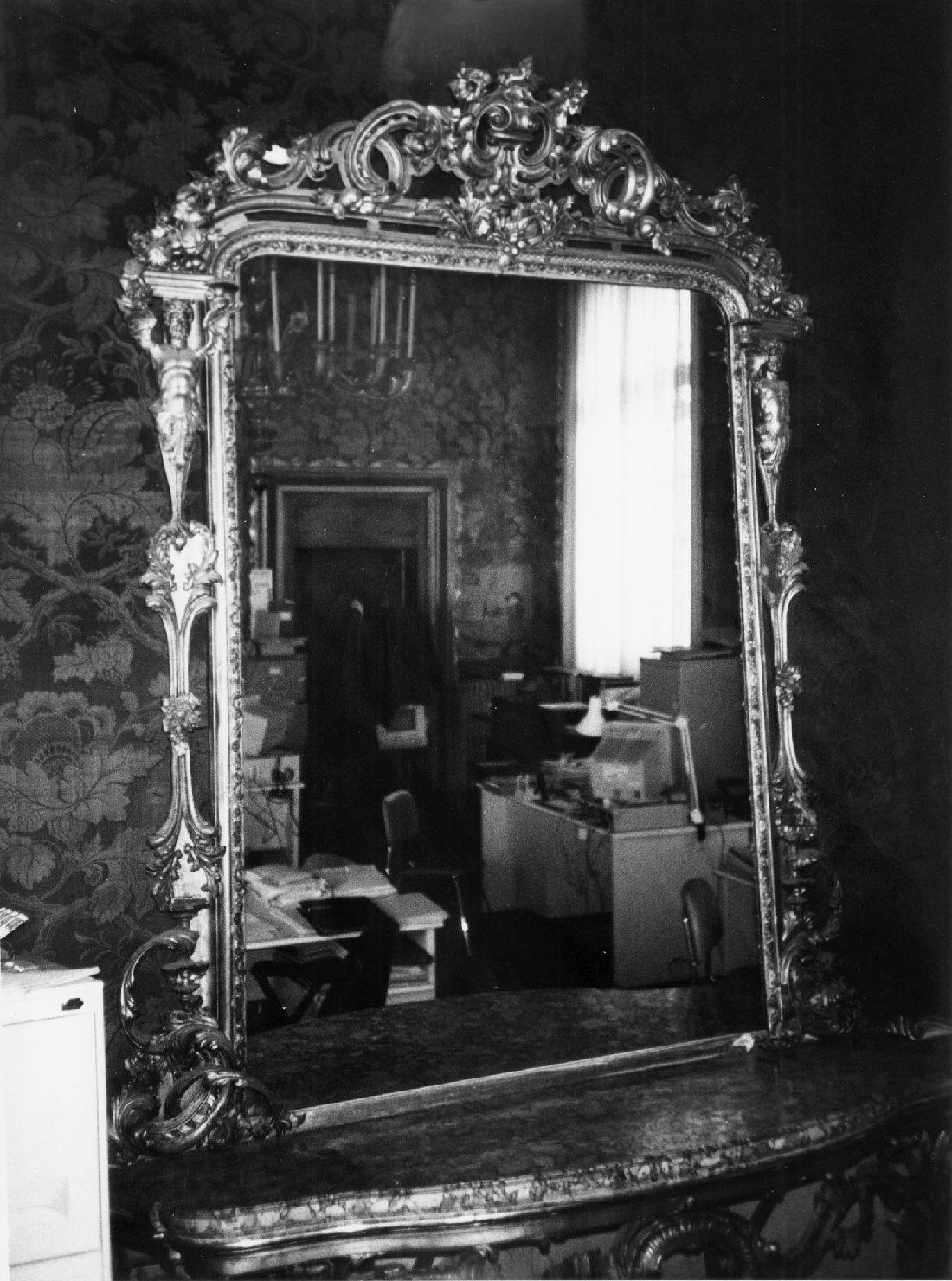 specchiera, serie - ambito italiano (metà sec. XIX)