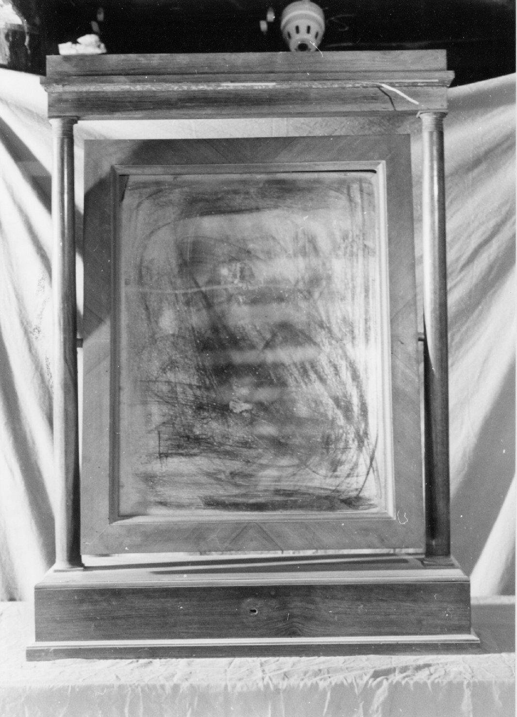 specchiera girevole, opera isolata - manifattura parmense (sec. XIX)
