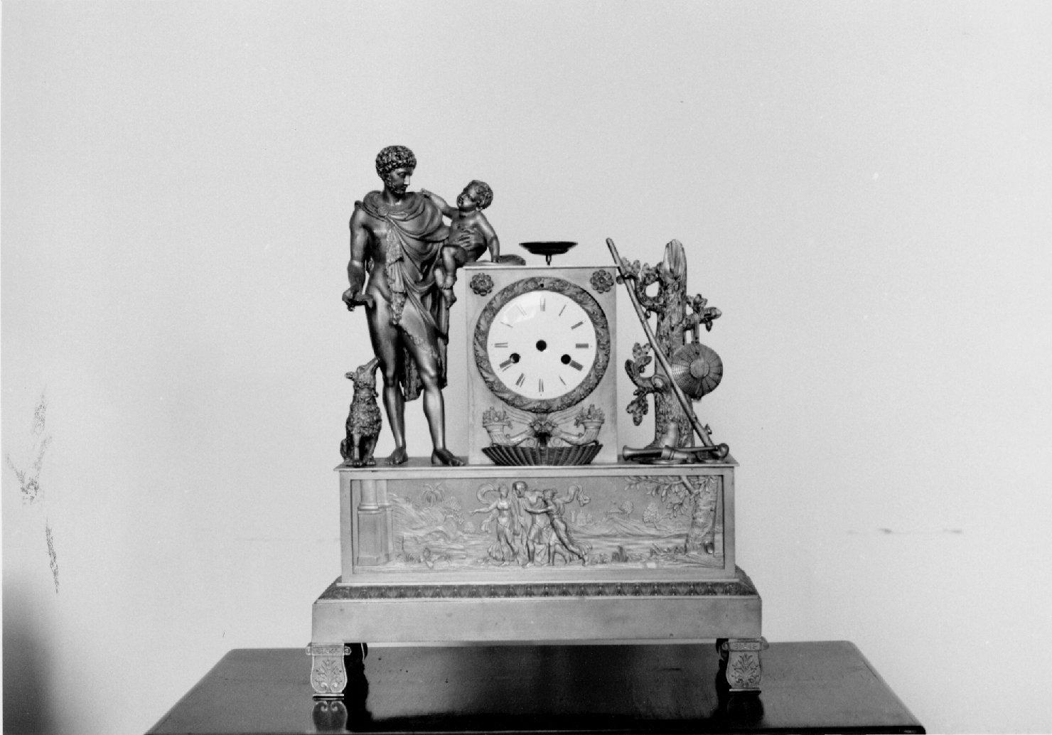 orologio, opera isolata - manifattura francese (primo quarto sec. XIX)