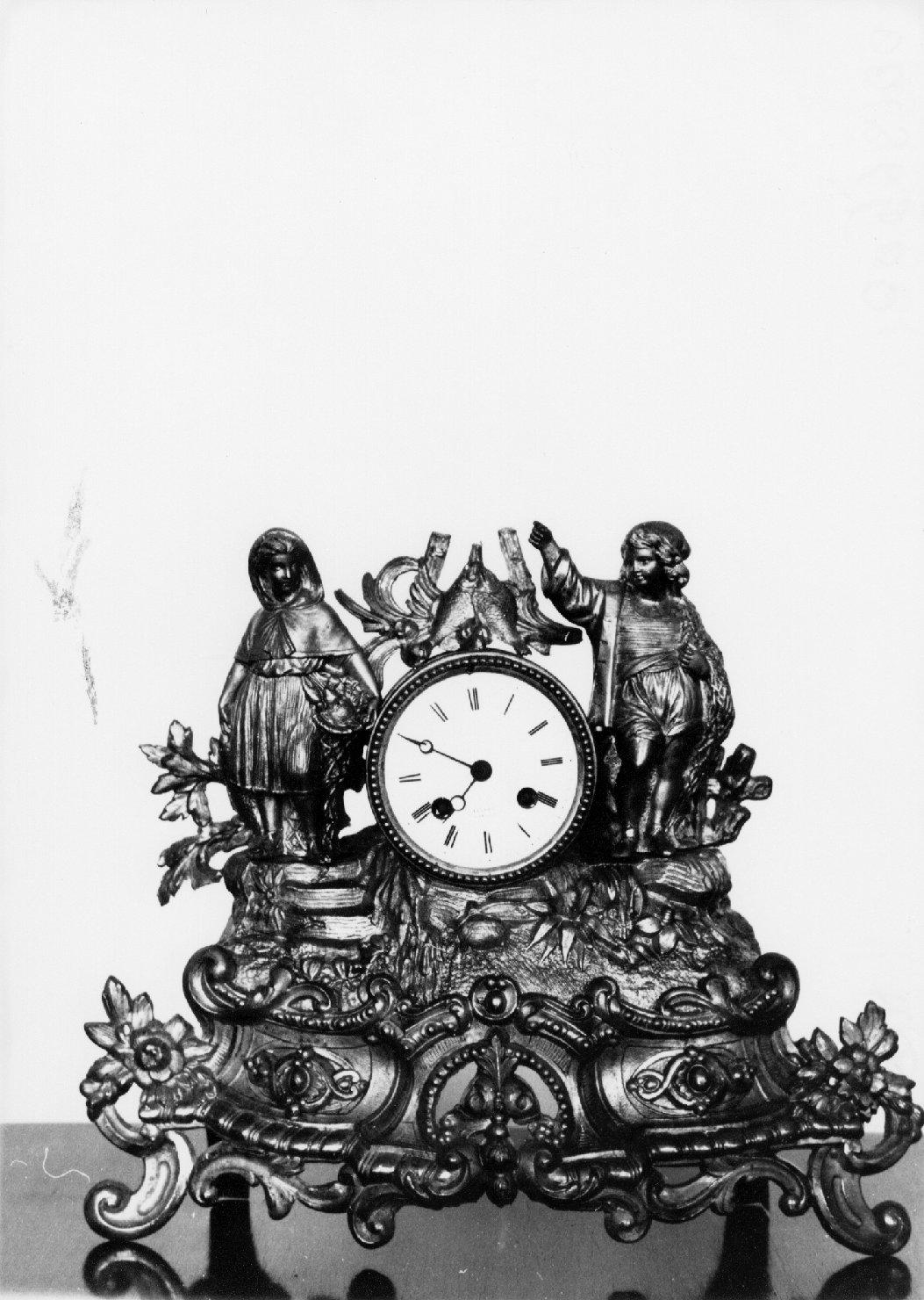 orologio, opera isolata - manifattura francese (prima metà sec. XIX)
