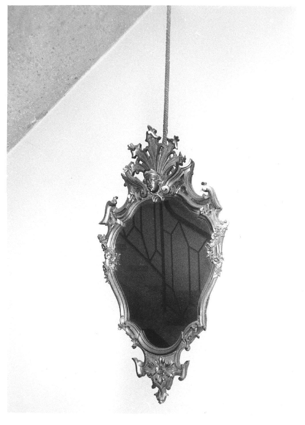 specchiera, opera isolata - manifattura veneziana (sec. XIX)