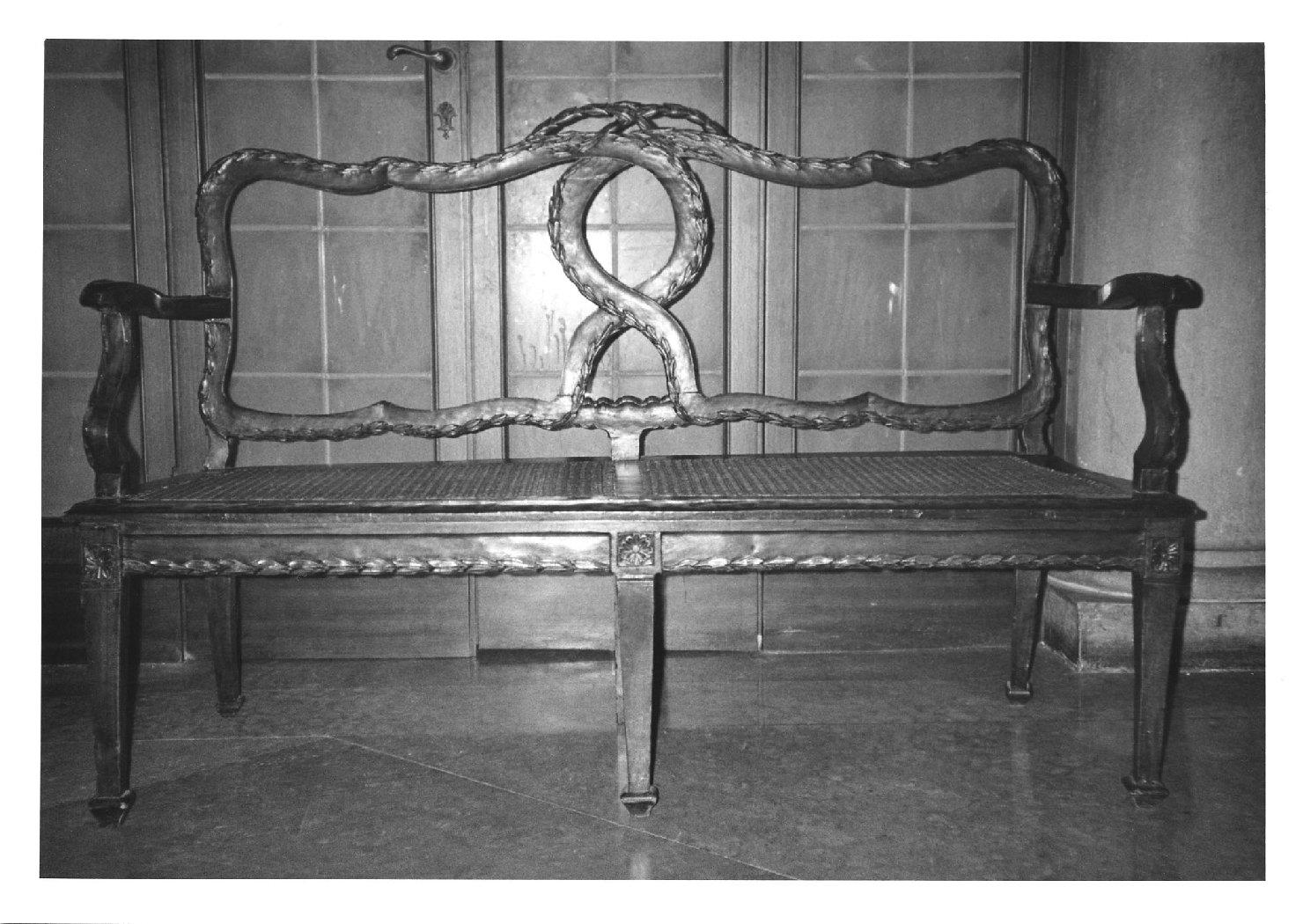 divano, opera isolata - manifattura veneta (prima metà sec. XX)