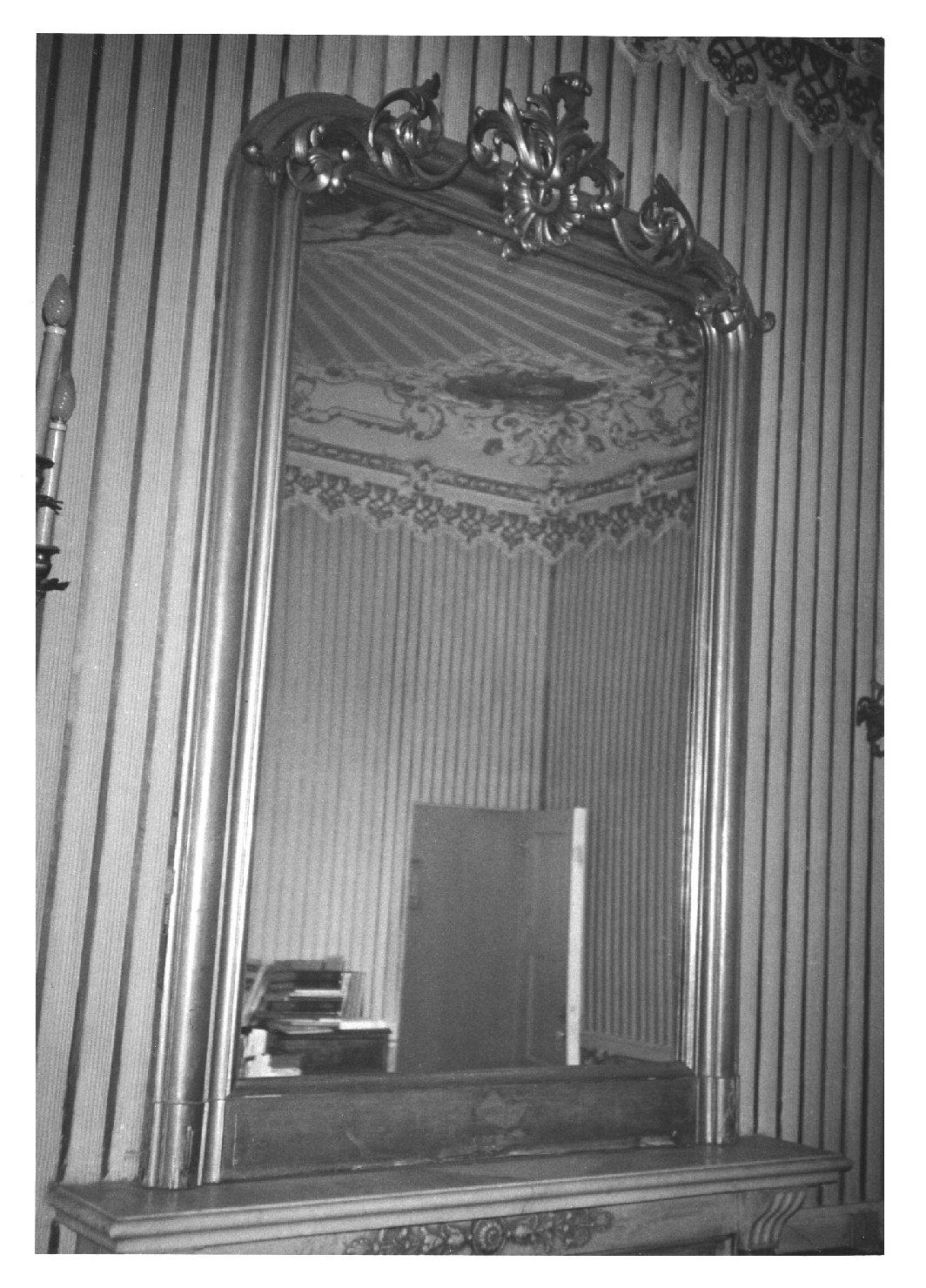 specchiera, opera isolata - manifattura veneta (sec. XIX)