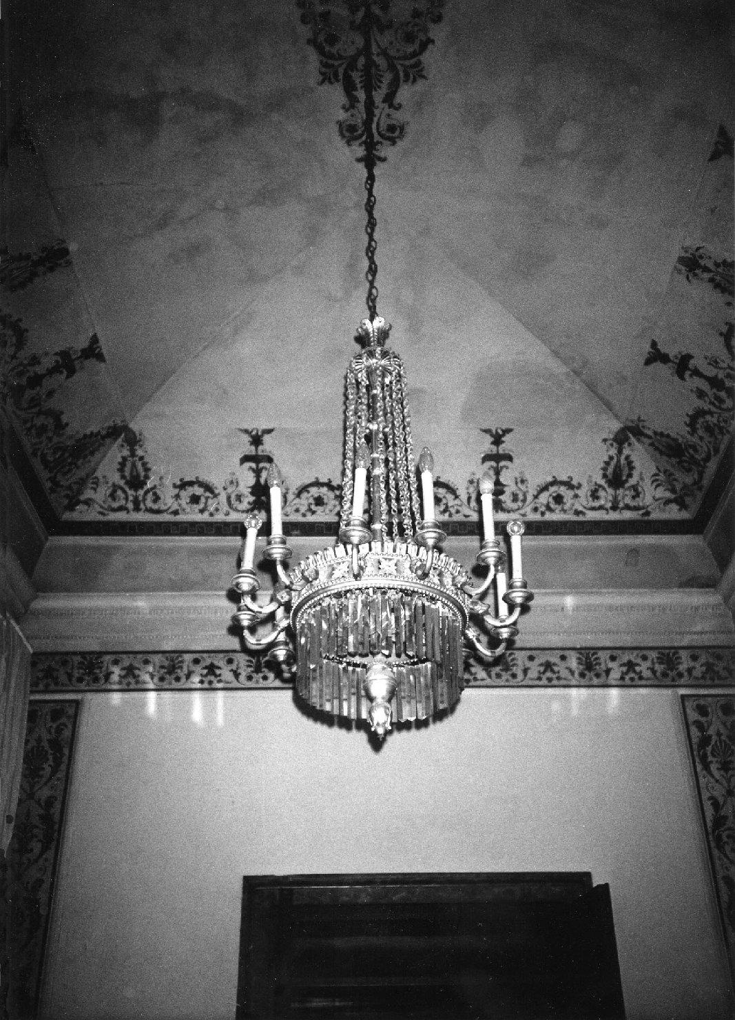 lampadario, opera isolata - manifattura lombardo-veneta (sec. XIX)