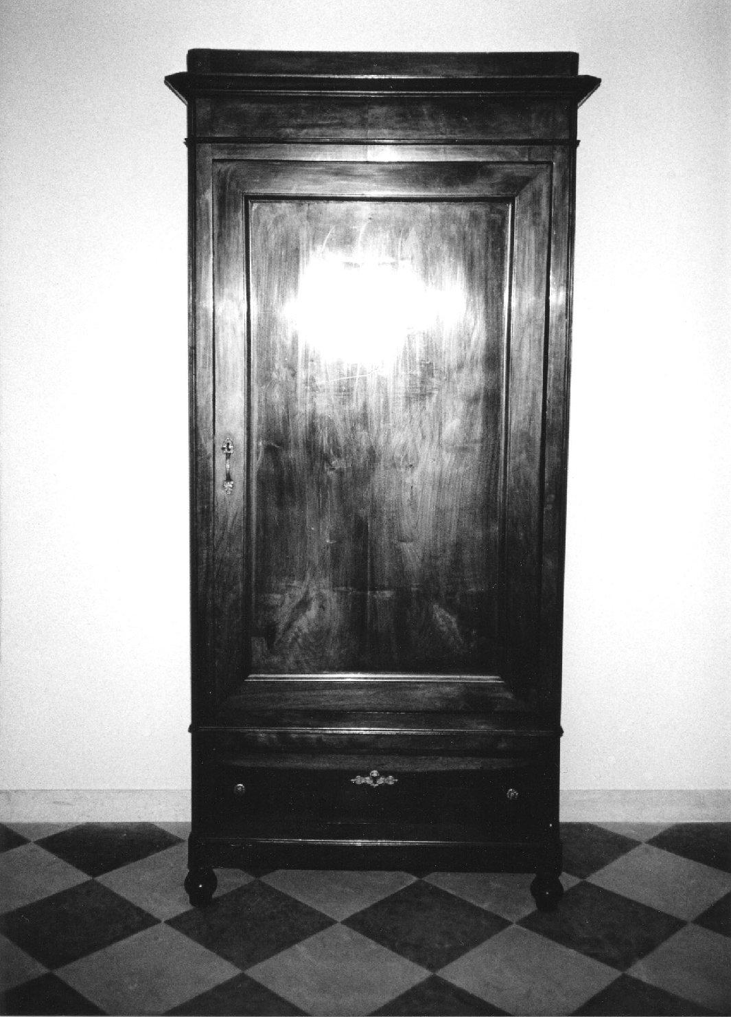 armadio, opera isolata - manifattura piemontese (sec. XIX)