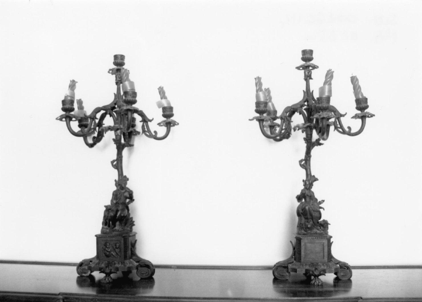 candeliere, serie - ambito italiano (sec. XVIII)