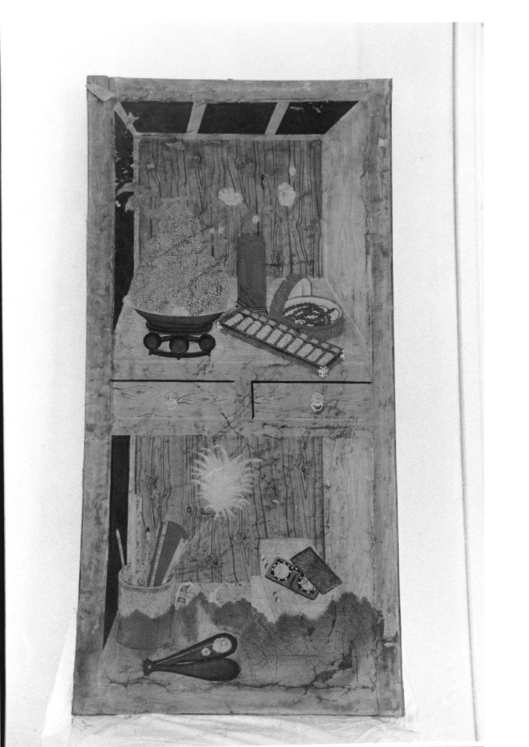 pannello, complesso decorativo - ambito cinese (seconda metà sec. XVIII)