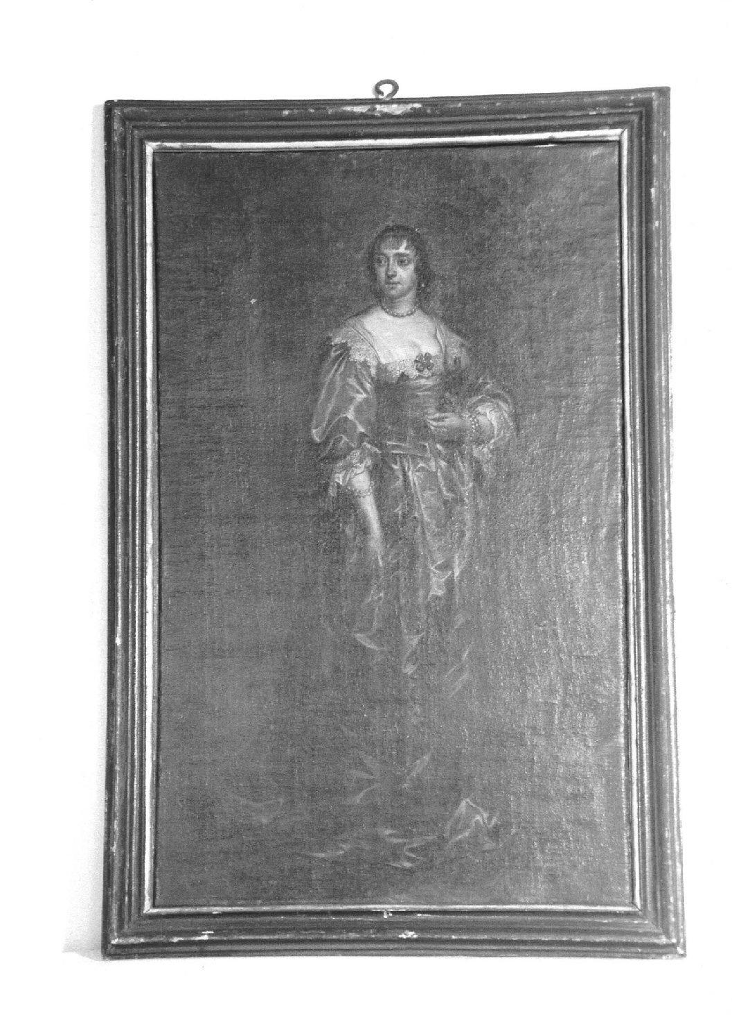 ritratto di donna (dipinto, opera isolata) - ambito fiammingo (prima metà sec. XVII)