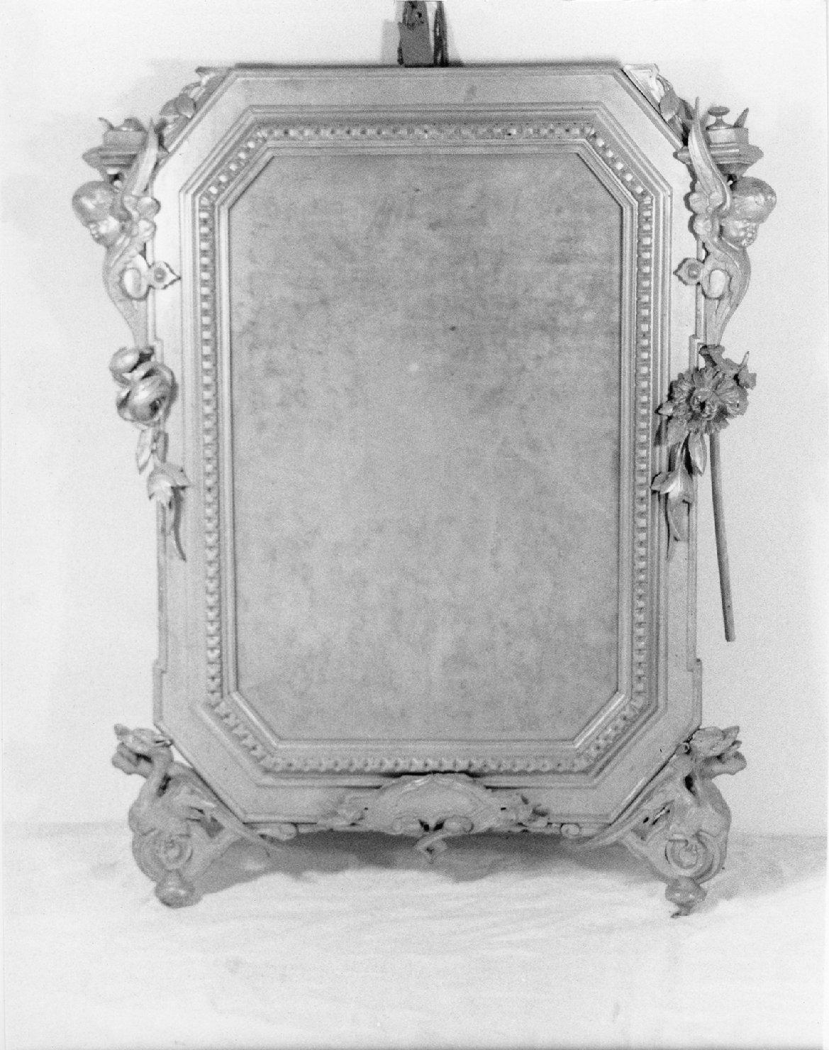 specchiera, opera isolata - ambito Italia settentrionale (sec. XIX)