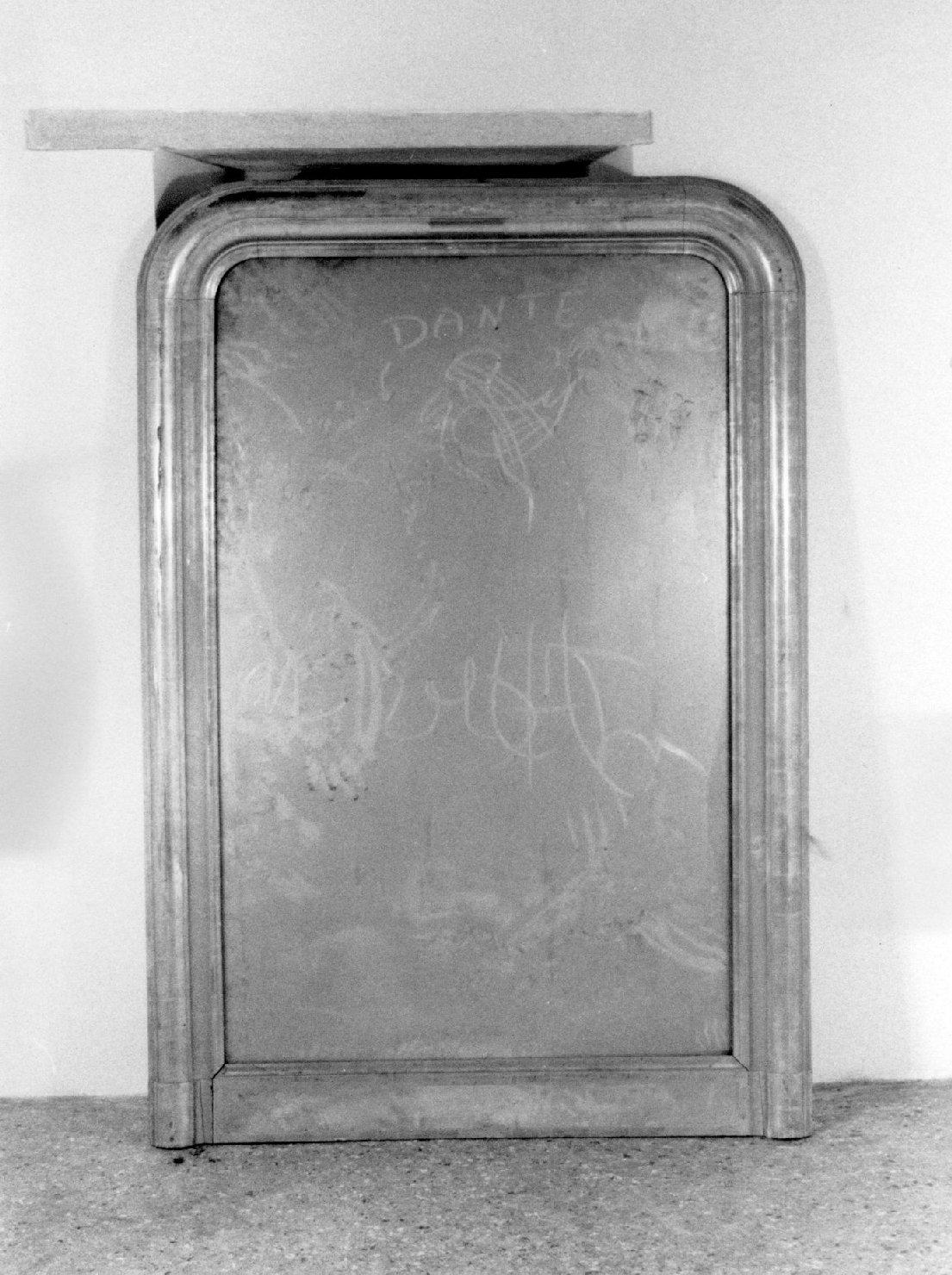 specchiera, opera isolata - ambito Italia settentrionale (metà sec. XIX)