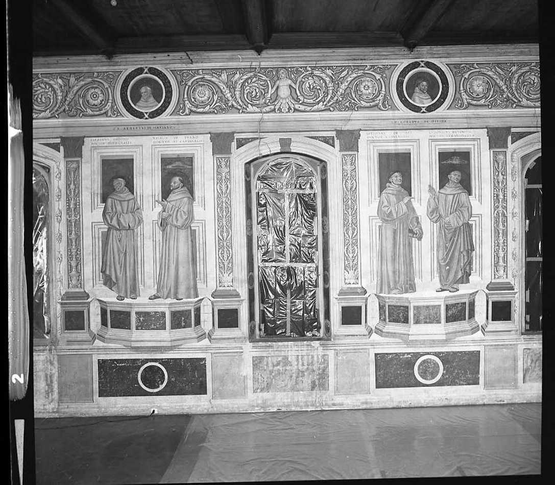 dipinto di Morone Domenico (e aiuti), Morone Francesco (fine/inizio secc. XV/ XVI)